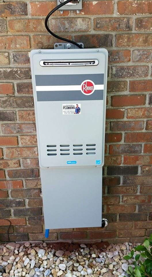 tankless water heater for washing machine