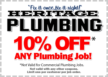 10% Off Coupon for Residential Plumbing Services