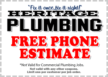 Free Phone Estimate for Residential Plumbing Services
